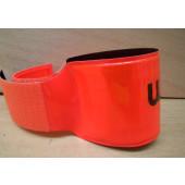 Brassard de sécurité WIZUO orange fluo